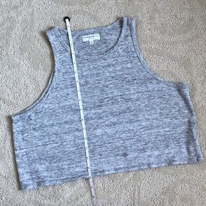 Community | Elea Tank 100% Linen in Pebble Melange